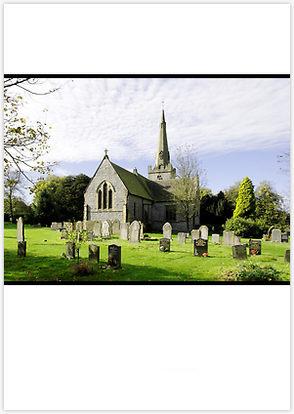 Photo Calendar of English Churches by Rod Johnson
