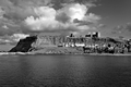 >The Imposing East Cliff, Whitby by Rod Johnson