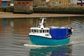 >The Olivia Rose In Whitby Lower Harbour by Rod Johnson