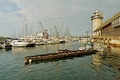>Falmouth Harbour From The Discovery Quay by Rod Johnson