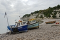 >Beached Fishing Boats At Beer by Rod Johnson