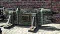 >18th Century Sailing Ship Rudder by Rod Johnson