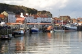 >Boats in the Lower Harbour, Whitby by Rod Johnson
