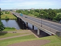 >St Peter's Bridge, Burton on Trent by Rod Johnson