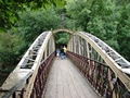 >Jubilee Bridge, Matlock Bath by Rod Johnson