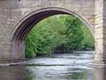 >Fishing Near Baslow Bridge by Rod Johnson