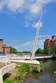 >Swing Bridge at Cathedral Green, Derby by Rod Johnson