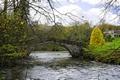 >St Bertram's Bridge, Ilam by Rod Johnson