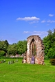 >East Window Remains, Old Church at Ticknall by Rod Johnson