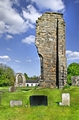 >West Wall Remains, Ticknall Old Church by Rod Johnson