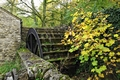 >Old Mill and Water Wheel, Miller's Dale by Rod Johnson