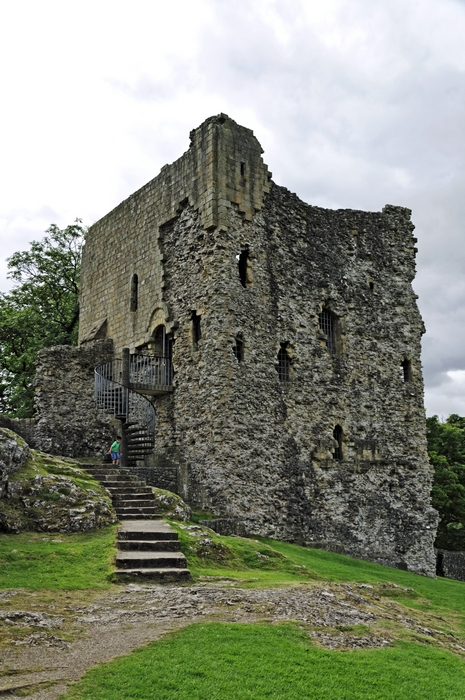The Keep, Peveril Castle by Rod Johnson