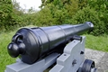 >East Bastion Gun, Carisbrooke Castle by Rod Johnson