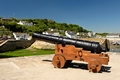 >Harbour Gun, Porhtleven by Rod Johnson