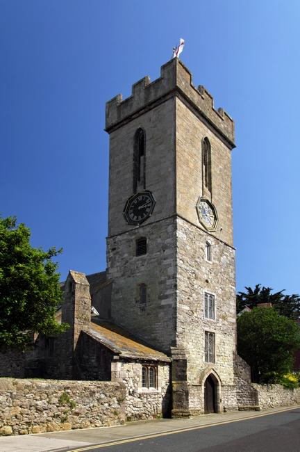 >St James' Church, Yarmouth by Rod Johnson