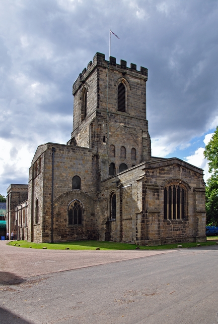 Melbourne Parish Church, Derbyshire by Rod Johnson