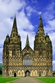 >Lichfield Cathedral, the West Front by Rod Johnson