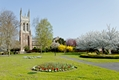 >St Peter's Church from Stapenhill Gardens by Rod Johnson