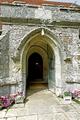 >St George's Church Porch, Arreton by Rod Johnson