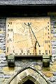 >Vertical Sundial, Eyam Parish Church by Rod Johnson