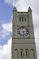 >The Clock Tower of Shanklin United Reformed Church by Rod Johnson