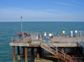 >Pier Fishing at Llandudno by Rod Johnson