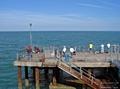 >Pier Fishing at Llandudno by Rod Johnson