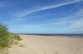 >Almost Deserted Beach, Skegness by Rod Johnson