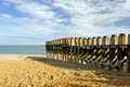 >Ventnor Beach Groyne by Rod Johnson