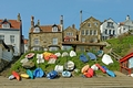 >Dinghy Park, Runswick Bay by Rod Johnson