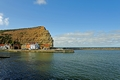 >Across Staithes Harbour To Cowbar Nab by Rod Johnson