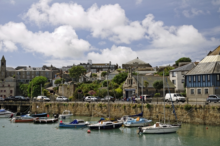>Penzance Harbour Scene by Rod Johnson
