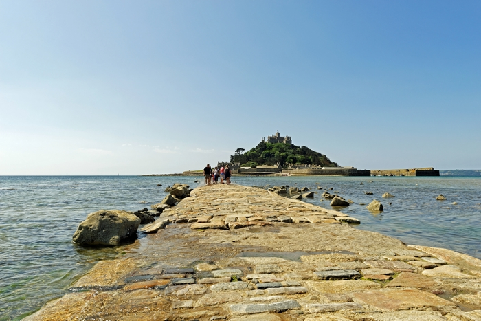 The Causeway To St Michael's Mount by Rod Johnson