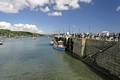 >St Mawes Ferries Alongside the Pier by Rod Johnson