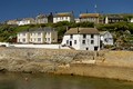 >Harbourside Buildings, Porthleven by Rod Johnson