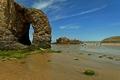>Arch Rock, Perranporth Beach by Rod Johnson