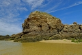 >Chapel Rock, Perranporth Beach by Rod Johnson