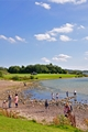 >Beach Fun at Carsington Water by Rod Johnson