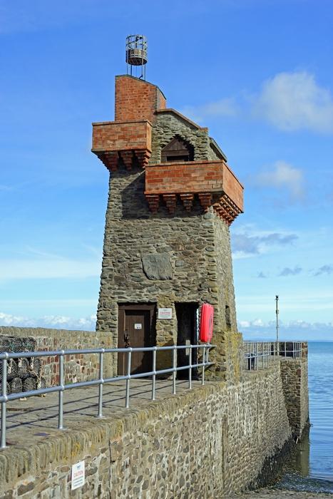 >Rhenish Tower and Quay, Lynmouth, Devon by Rod Johnson