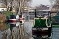 >Boats At Horninglow Basin by Rod Johnson