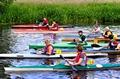 >Burton Canoe Race, The Start by Rod Johnson
