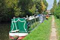 >Boats Near Horninglow Basin by Rod Johnson