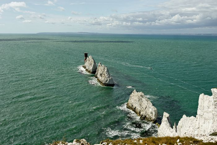 The Needles, Isle of Wight by Rod Johnson