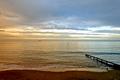 >Evening Light, Shanklin Beach by Rod Johnson