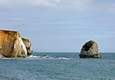 >Chalk Cliffs, Freshwater Bay by Rod Johnson
