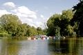 >Boats on Markeaton Lake by Rod Johnson