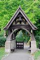 >Lychgate to St Blasius Church, Shanklin by Rod Johnson