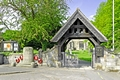 >The Lych Gate, Repton Churchyard by Rod Johnson