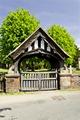 >Lychgate of All Saints Church, Alrewas by Rod Johnson