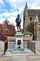 >James Boswell Statue, Lichfield  by Rod Johnson